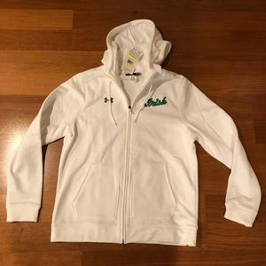 Women's Notre Dame Under Armour Storm Hoodie NWT